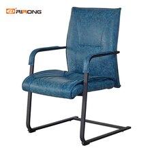 Антикварный офисный домашний Конференц-зал кожаное кресло без колеса