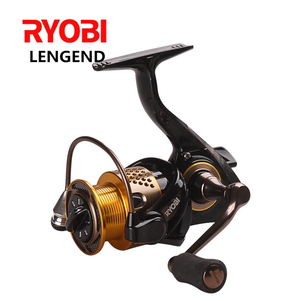Original RYOBI Spinning Fishing Reel 6BB/5.1:1 LEGEND (SLAM) 1000-6000 Spinning Reel Carretes Pesca Moulinet Peche Carretilha