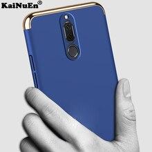 Kainuen роскошный жесткий пластиковый телефон задняя крышка etui, чехол, чехол для huawei mate 10 Lite 10 lite nova 2i honor 9i аксессуары 3 в 1