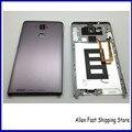 Оригинальные Подлинная Задняя Крышка Для Huawei Ascend Mate 7 Задний Корпус Батареи Двери Case С Сканер Отпечатков Пальцев Flex Части Кабеля
