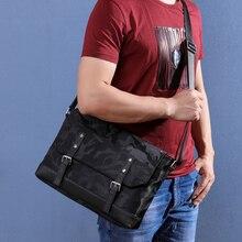 Wmnuo Brand Shoulder Bag Men Fashion Waterproof Camouflag Ox