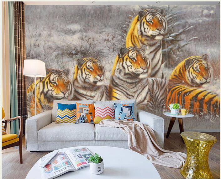 3d wallpaper custom mural non-woven 3d room wallpaper wall sticker  snow tiger oil painting murals photo wall paper for walls 3d 3d murals wallpaper hd paris window photo custom non woven sticker room sofa tv background wall painting wallpaper for walls 3d