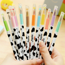 Set of 12 Japanese Cow Pattern Gel Pens