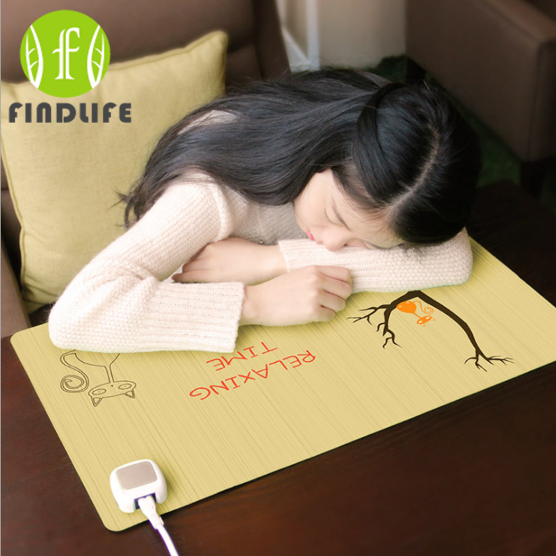 Winter plant heating pad Mouse pad for computer/heat special desk mat for writing Christmas Gift Popular