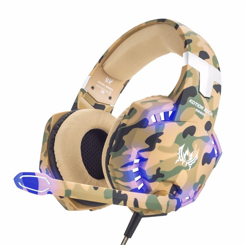 3,5mm Wired Stereo Camouflage Gaming Headset Ps4 Pc Xbox One Gamer Kopfhörer Spiel Gaming Kopfhörer Für Computer Mit Mikrofon Im In Gekonntes Stricken Und Elegantes Design BerüHmt Zu Sein Und Ausland FüR Exquisite Verarbeitung