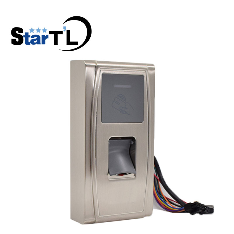 ZK MA300 Waterproof Fingerprint and 125K Rfid Card Access Control TCP/IP Fingerprint Access Control With ID Card reader 125k waterproof glue square rf access control reader rfid antenna coil induction coil slim compact