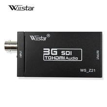 Wiistar Mini HD 1080P 3g sdi в hdmi конвертер Поддержка HD-SDI/3G-SDI сигналов sdi2hdmi SDI в hdmi конвертер адаптер