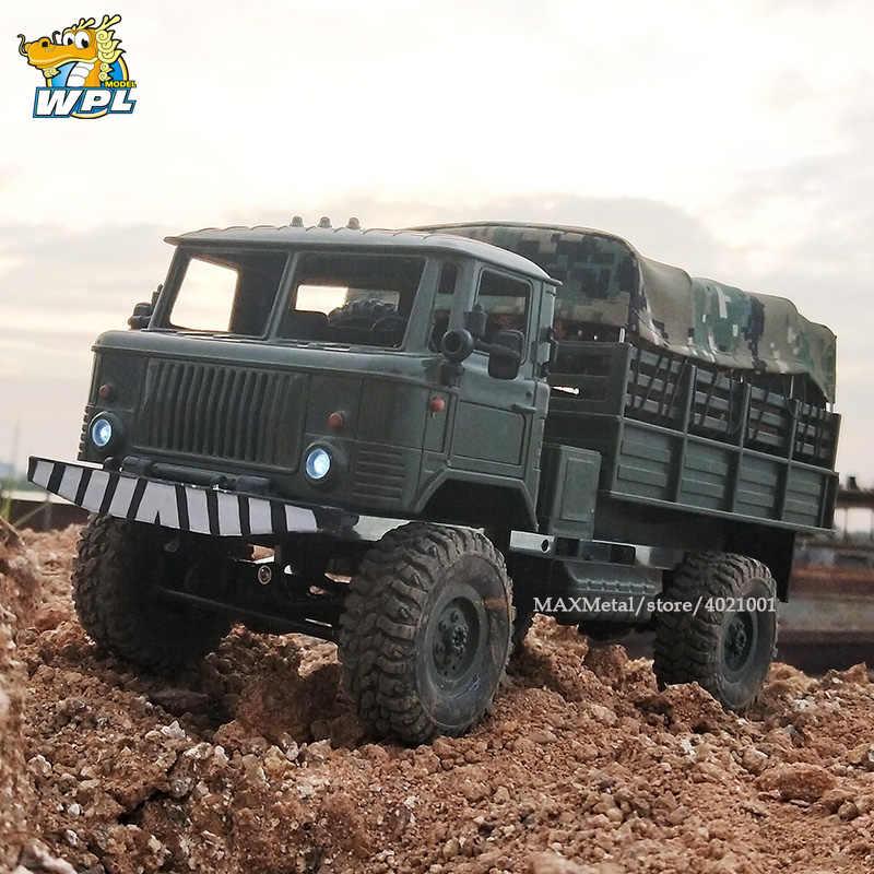 WPL B24 1:16 KIT DIY RC Truck 4WD 2 4G Off-road Simulation Racing Car  Radio-Controlled Car Carrinho de controle