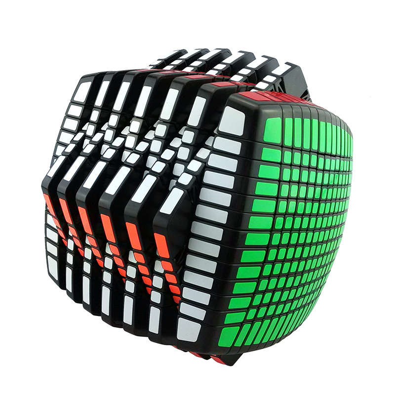 New Version MoYu Stickerless 13x13x13 Speed magic Cube Square Cubo Magico Puzzle learning education good Gift