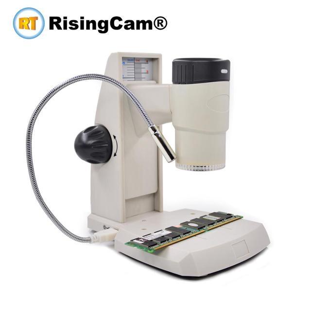 2 في 1 USB 2.0mp يده انفصال الرقمية فيديو مجهر ستيريو البيولوجي مع وظيفة القياس