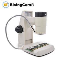 2 in 1 USB 2.0mp palmare Separabile digital video biologico microscopio stereo con funzione di misura