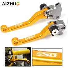 Dirt Bike Brake Clutch Levers For SUZUKI RM85 RM125 RM250 RMZ250 RMZ450 RMX250S DRZ400S DRZ400SM DR250R 250SB 2002-2006 стоимость