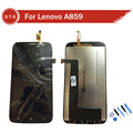 100% Guarantee Replacement LCD Display Screen With Touch Digitizer Assembly For Lenovo A859 +Tools Free shipping