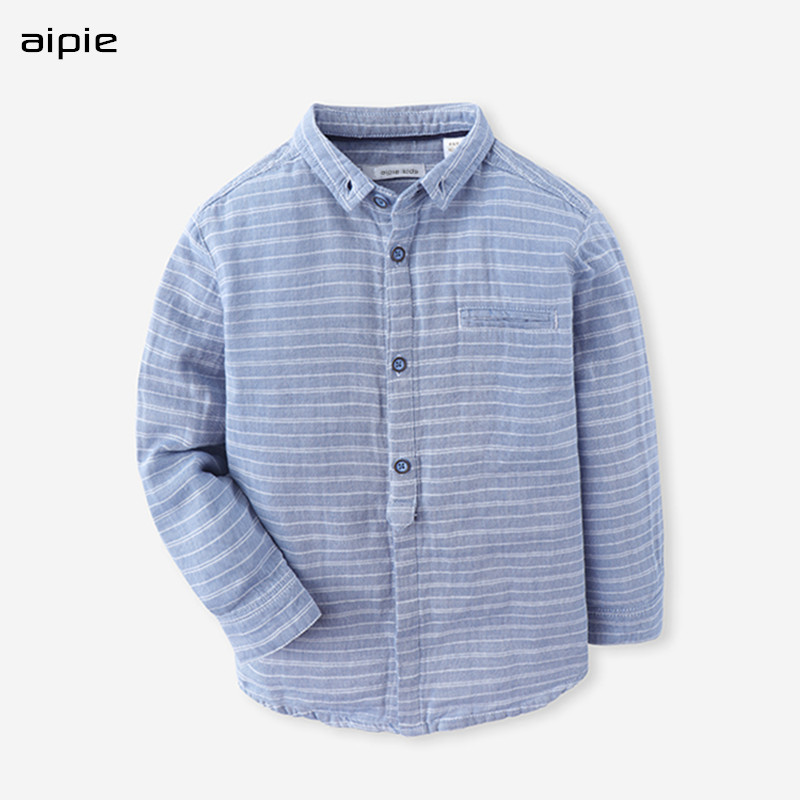 High Quality Children Shirts European and American Style Striped Turn-down Collar Cotton 100% Boys Shirts For 6-14 Year Kids 2017 famous designer brand upscale high quality cotton men jeans trouser european and american casual style pant for male jeans