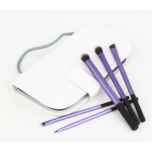 New 5pcs Eyeshadow Eyeliner Lip Brush Starter Kit Makeup Brushes Collection Cosmetic Powder Foundation Tool Beauty