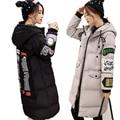 2016 New Fashion Long Women Winter Jacket and Coat Thick Warm Hooded Women Cotton-padded Jacket Female Parkas Plus Size W123