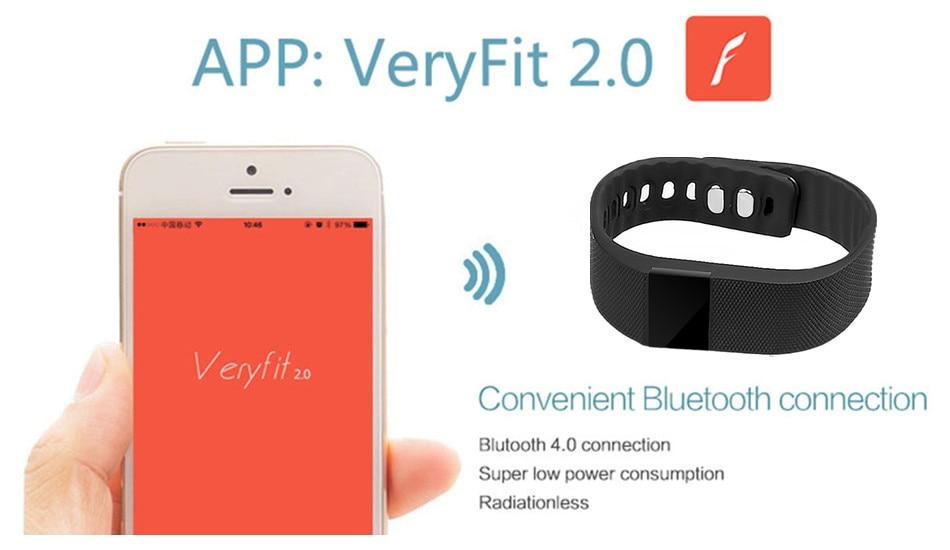 Tw64 Fitness Tracker Bluetooth 4 0