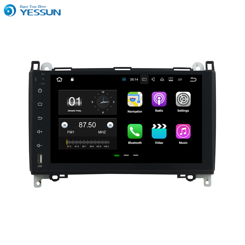 YESSUN Android For Benz Vito/Viano 2009~2011 Car Navigation GPS Audio Video HD Touch Screen Multimedia Player No CD DVD.