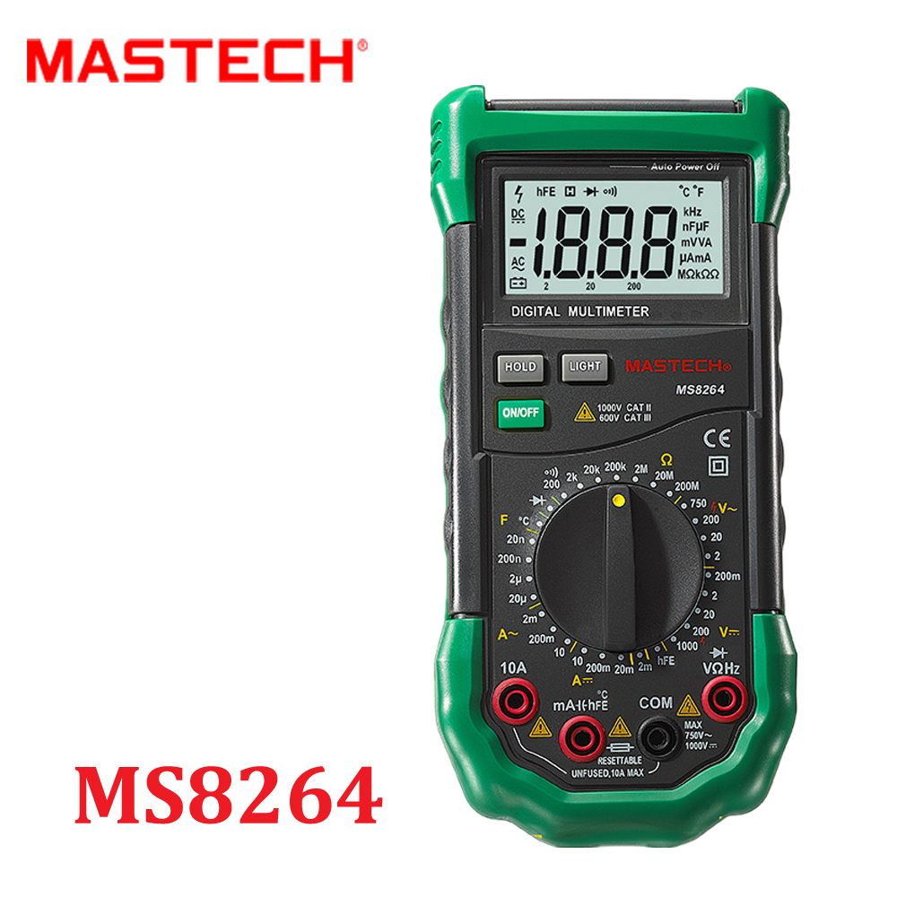 DMM Digital Multimeters MASTECH MS8264 2000 Counts Temperature Capacitance Frequency  tester multimetros multimetr multitester  цены