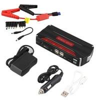 Multifunctional 68800mah Car Jump Starter 12V 4 USB Mini Power Bank for Emergency Start Chargable Battery