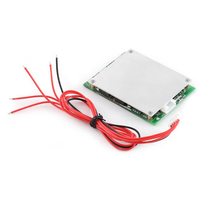 4S 100A 12V Protection Board For Lifepo4 Life 18650 Iron Phosphate Battery Bms Module With Balancing Function in Solar Inverters from Home Improvement