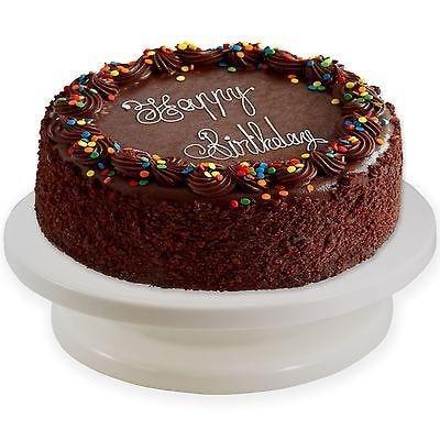 28cm Cake Turntable Rotating Cake Icing Decorating ...