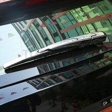 Abaiwai авто аксессуары для peugeot 3008 GT 2017 2018 ABS Chrome заднего стекла стеклоочиститель рамка Stiker отделкой 3 шт./компл.