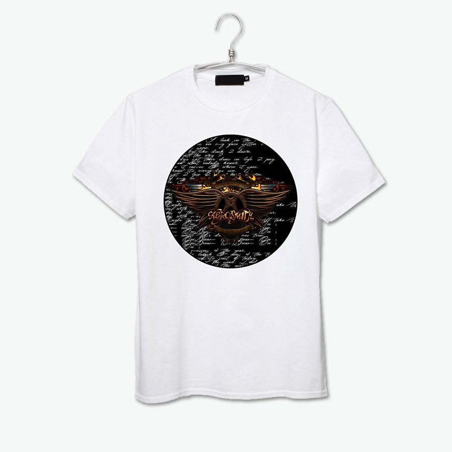 Guns N Roses Appetite for destruction Aerosmith dream on rock fashion vintage t shirt