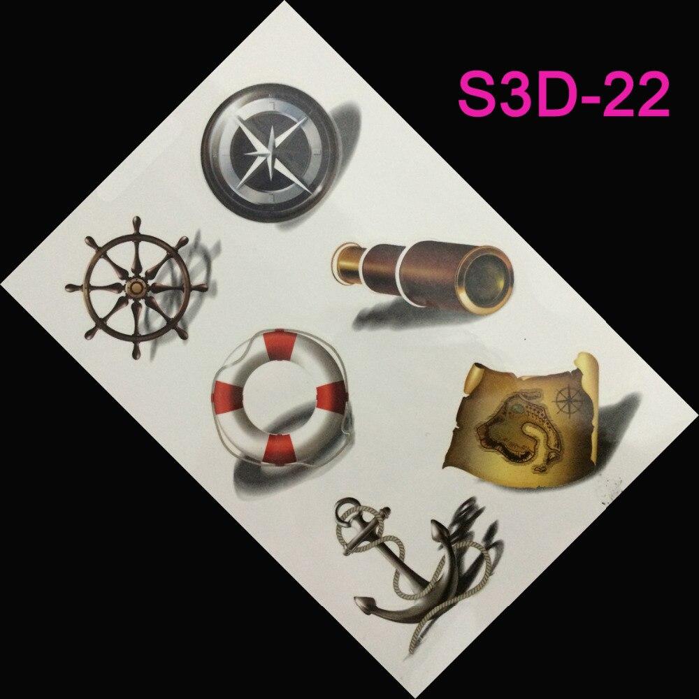 achetez en gros pirate temporaire tatouages en ligne des grossistes pirate temporaire. Black Bedroom Furniture Sets. Home Design Ideas