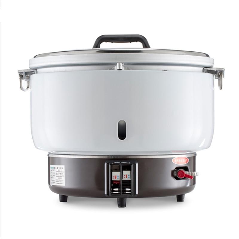Ménage/Commercial gaz cuisson cuiseur à riz feu ouvert cuisson hôtel cuisine équipement riz cuiseur Multi cuisinière MB7L-B