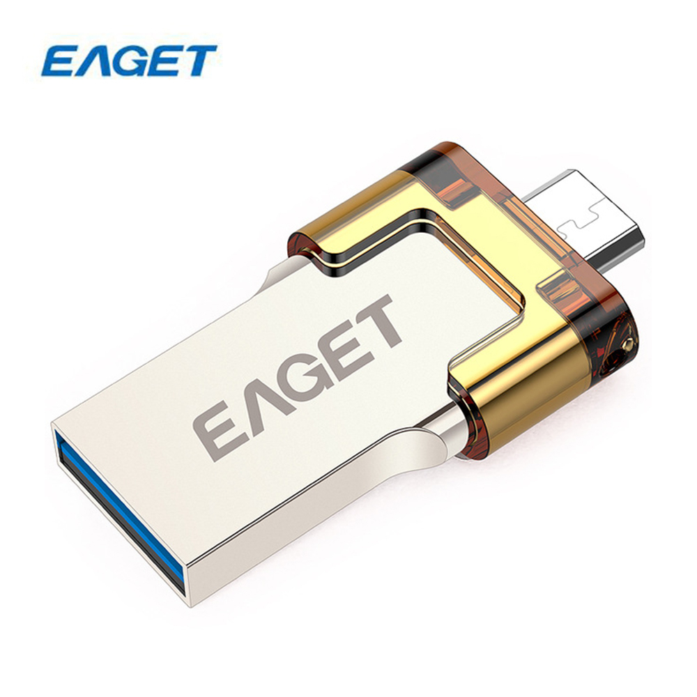 EAGET V80 USB 3.0 64 GB 32 GB 16 GB U Disque OTG USB Flash Drives Stockage Externe Pour SmartPhone Tablet PC