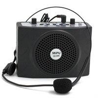 MiPU Teach Microphone Loudspeaker With Headset Speaker Megaphone Tool Voice Amplifier For Teaching Outdoor Sport Tour
