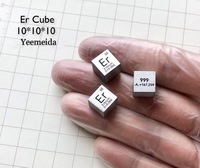 Erbium Er Carved Element Periodic Table Cube 10mm 99.9%
