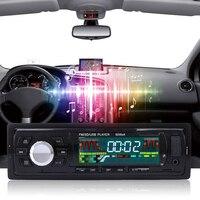 New 1 Din Nghe Radio Trên Xe Âm Thanh Xe Hơi Tự Động Stereo 12 V In-dash Duy Nhất FM Receiver Aux Xe Receiver MP3 Từ Xa điều khiển