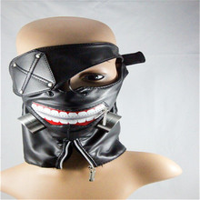10pcs Pack New Punk Snowboard Face Black font b Mask b font Anime Mouth Training Sleeves