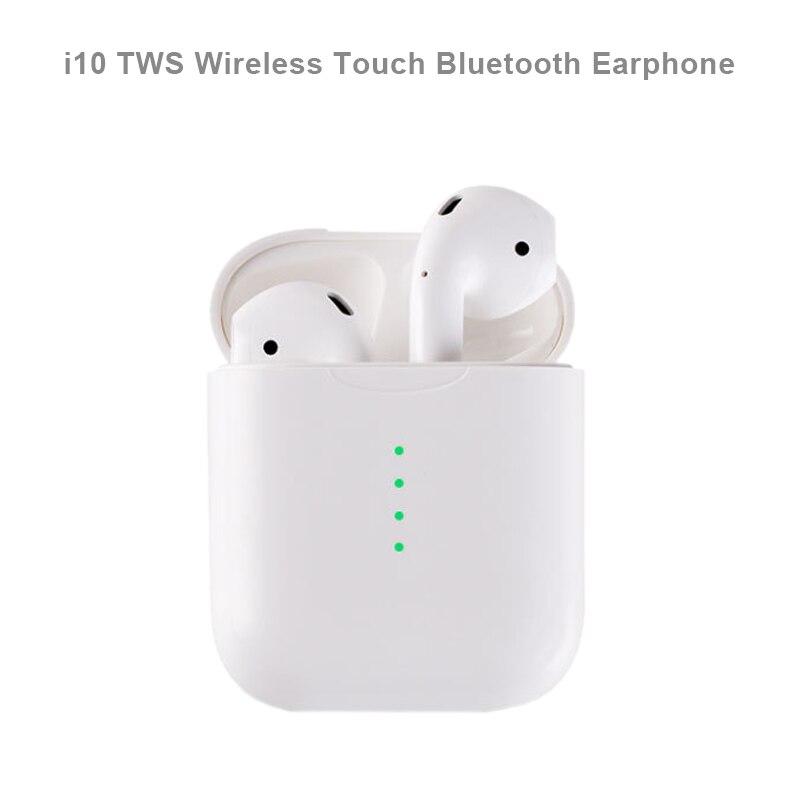 Nouveau i10 Mini TWS sans fil tactile Bluetooth écouteur AirDots stéréo écouteurs casque avec micro pour iPhone Samsung Xiaomi Huawei