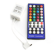 40Key RGB White RGBW Led Remote Control DC 12 V 24 V IR Dimmer Strip RGB Controller RGBW RGBWW Led Strip Remote Controller