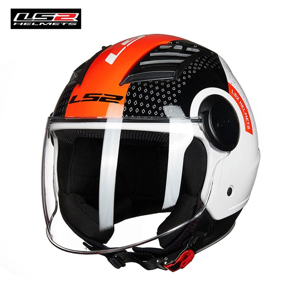 LS2 OF562 LUFTSTROM Jet Helm Condor Camo Metropole Casque moto casco moto capacetes de moto ciclista