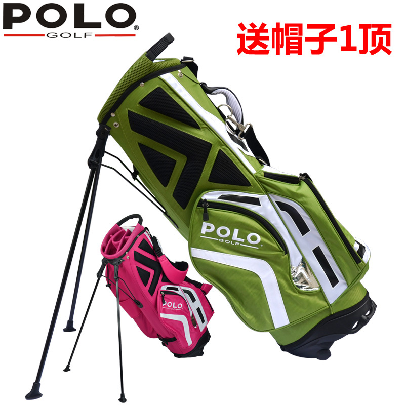 цена на brand POLO golf rack tripod bag backpack bag 11-piece clubs container Anti-Friction golf cart bag staff golf bag