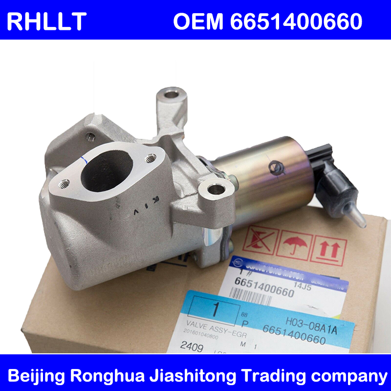 original Actuator Exhaust Gas Recirculation EGR Valve FOR SsangYong REXTON ACTYON KYRON 2007 2011 OEM 6651400660