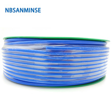 цена на 100M Pipe Blue PU Pneumatic Hose Tube Pneumatic Hose Air Compressor PU Hose Hydraulic Components High Quality Sanmin