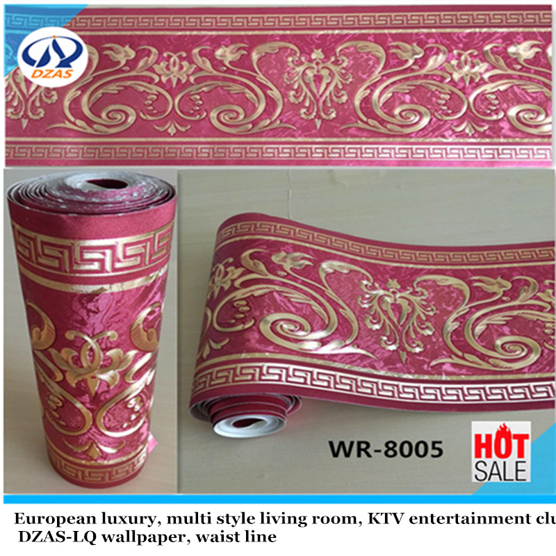 Buy gold wallpaper border and get free shipping on AliExpress.com