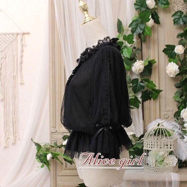 Chaton dans le cadre ~ chemisier en mousseline de soie femme blanc doux haut blanc par Alice Girl ~ pré-commande - 3