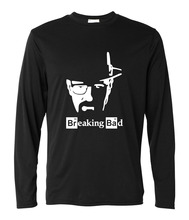 Breaking Bad T Shirt Men 2017 Walter White Cook long sleeve brand clothing new harajuku fitness Tops Heisenberg Tees