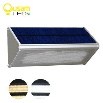 48led Outdoor Solar Lighting Super Bright Garden Light Waterproof By Radar Motion Sensor Aluminum Street Light lampada 4Modes