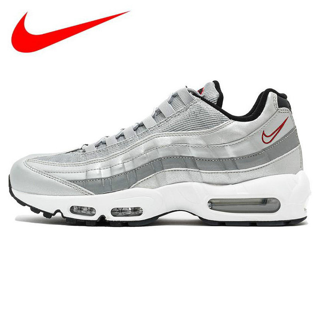 size 40 bda9a 8b842 Original Nike AIR MAX 95 Air Cushion Men s Running Shoes Increased  Sneakers, Men s Outdoor Sports Shoes 918359-001