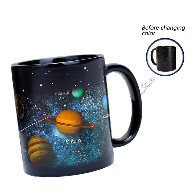 Creative Ceramic Heat Revealing Color Changing Mug