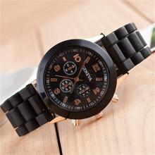2017 New jelly watch rubber silicone shoots Males Girls Date Trend Equipment Girls and boys sweet coloured
