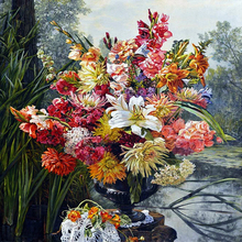DIY Diamond Painting flower bunch of flowers Embroidery Bunch flowes Mosaic Cross Stitch Home Decor