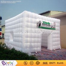 Free Express Commercial Inflatable Cube Tent Inflatable Party Tent with Free Blower N Durable bistratal Oxford Material toy tent